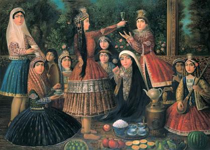 نگاهی به صنعت پارچهبافی در ایران باستان