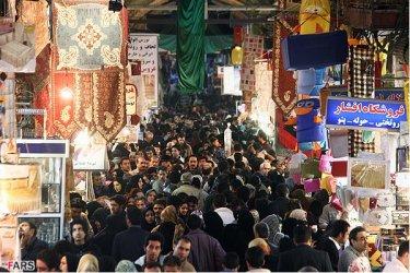 عدم تأثیر آتشسوزی ساختمان پلاسکو در بازار شب عید